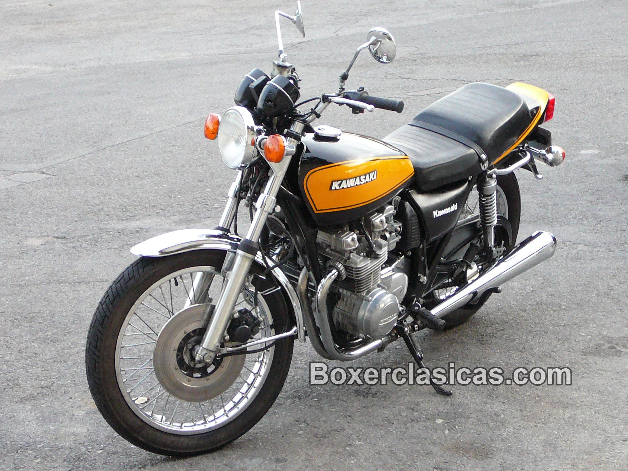 Moto Clásica Kawasaki