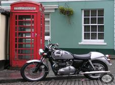 Moto Clásica Boneville